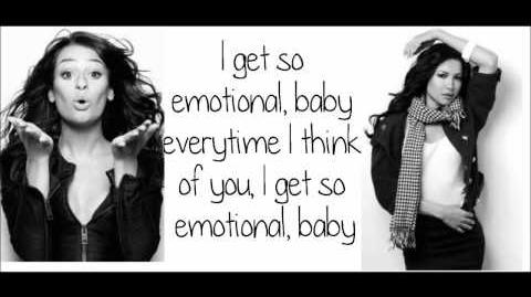 Glee - So Emotional (Lyrics) HD