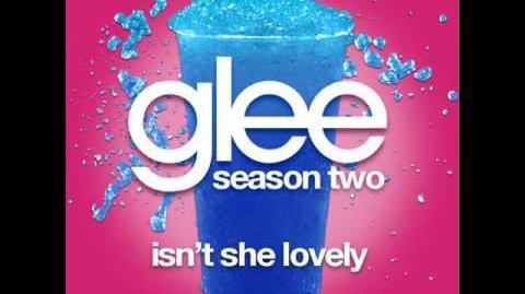 Isn't She Lovely -- Glee Cast Full Song-0