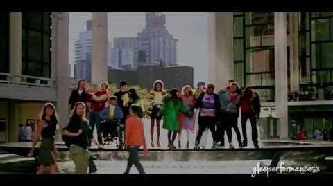 Glee - I Love New York New York, New York (Full Performance)