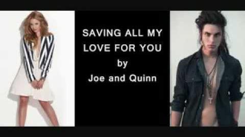 Saving All My Love For You - Glee (with Lyrics)