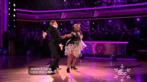 Amber Riley & Derek Hough - Charleston - Week 11 The Finals
