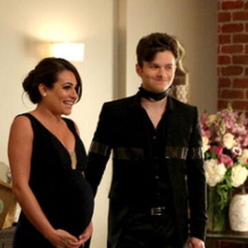 Glee fantom och Rachel dating