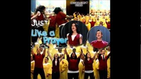 Glee - Like A Prayer (Acapella)