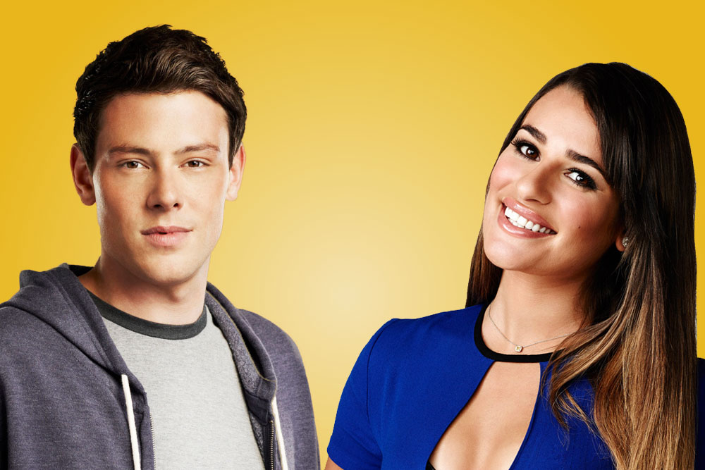 Do rachel and finn dating in real life
