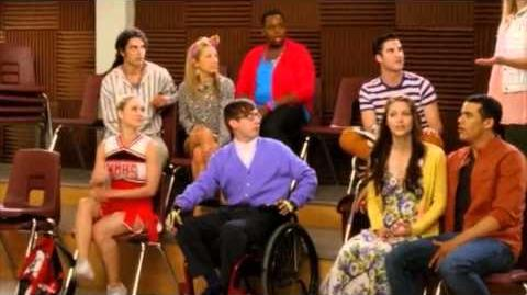 """Glee 4x22 Scene 5 """"All Or Nothing"""" Season Finale """"Brittany breaks up with Sam"""""""