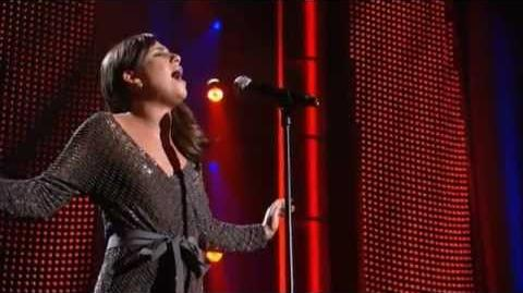 Lea Michele (Glee) - Singing My Man Live - Tribute To Barbra Streisand