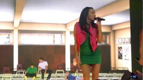 River Deep Mountain High - Naya Rivera and Amber Riley LIVE