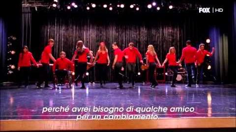 "Glee 4x07, ""I Superduetti"" - Some Nights"
