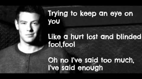 Glee Cast - Losing My Religion (Lyrics)