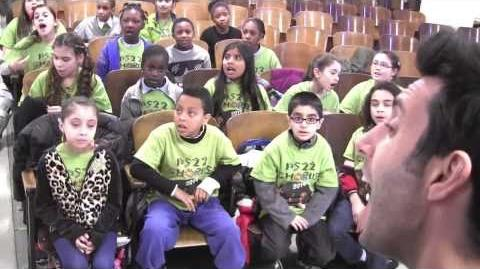"""Rockstar"" A Great Big World ft. PS22 Chorus"