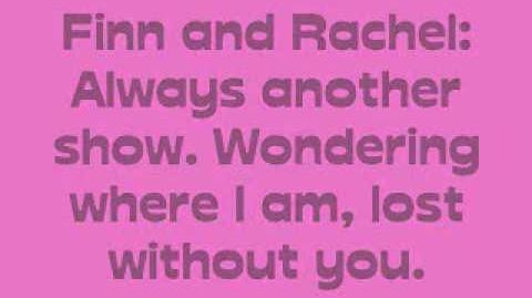 Faithfully - Glee Cast - Lyrics-0