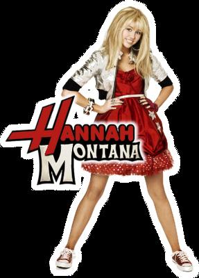 HannahMontanaRedLogo
