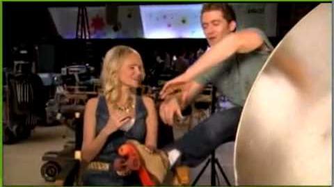 "Glee Behind the Scenes 1x16 ""Home"""