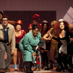 The Rocky Horror Glee Show: The Time Warp