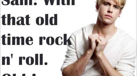 Old Time Rock and Roll & Danger Zone Glee Lyrics