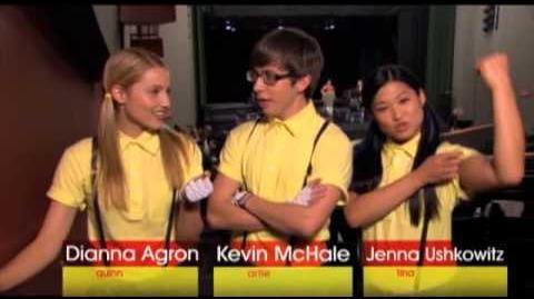 Behind the Glee Wheels