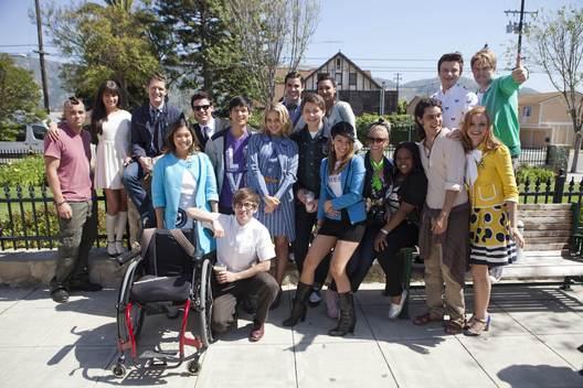 Image Chord Behind The Scenes Of Glee Season 3 Chord Overstreet