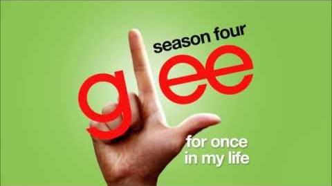 For Once In My Life - Glee Cast HD FULL STUDIO-1