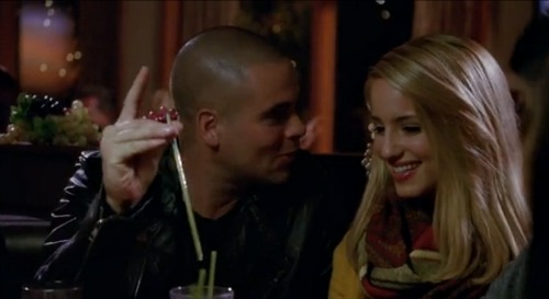 Who is quinn from glee dating in real life