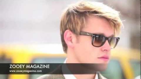BEHIND THE SCENES Chord Overstreet