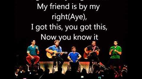 Glee - Friday (LYRICS) (Full Official Version) (HD & HQ)