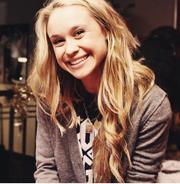Becca very big smile