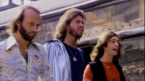 Bee Gees - Stayin' Alive HQ 1rst Version Music Video 1977 (NO FAKE HQ)