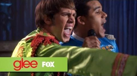 """Full Performance of """"Sergeant Pepper's Lonely Hearts Club"""" GLEE"""