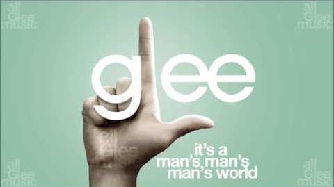 It's A Man's Man's Man's World Glee HD FULL STUDIO