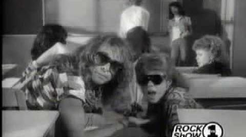 Van Halen - Hot For Teacher (Music Video)