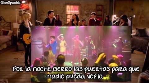 "Performance of ""Into The Groove"" from ""Puppet Master"" GLEE Subtitulada Al Español"