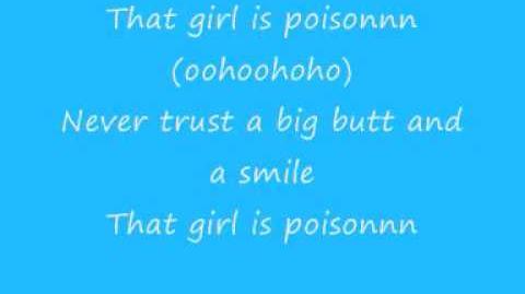 Acafellas poison lyrics