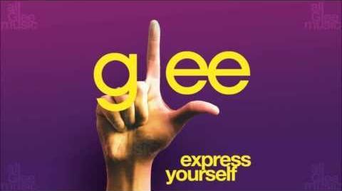 Express Yourself Glee HD FULL STUDIO