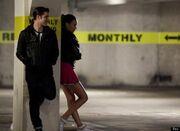 Bad Blaine and Santana