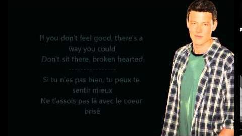 Glee - Shout it out loud Paroles & Traduction
