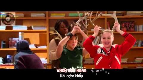 "Lyrics Vietsub GLEE - Full Performance of ""Rockin' Around The Christmas Tree""-0"