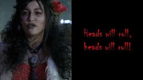 Thriller Heads will roll glee lyrics