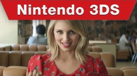 Nintendo 3DS - Dianna Agron Art Academy TV Commercial