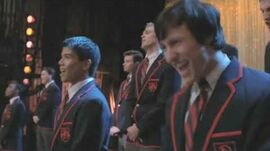 Glee - Raise Your Glass full performance HD (Official Music Video)