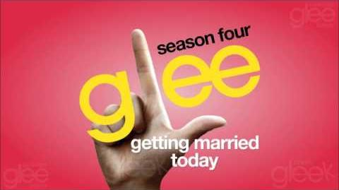 (Not) Getting Married Today - Glee Cast HQ (DOWNLOAD)