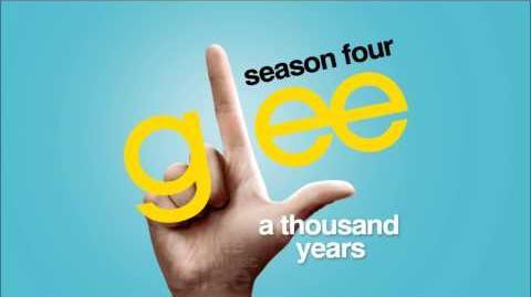 A Thousand Years - Glee HD Full Studio