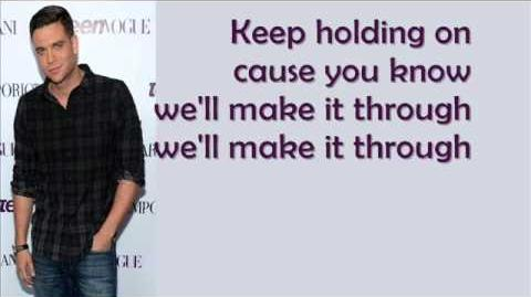 Glee - Keep Holding On-0