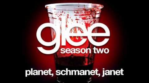 Glee - Planet, Schmanet, Janet (BONUS SONG - LYRICS)