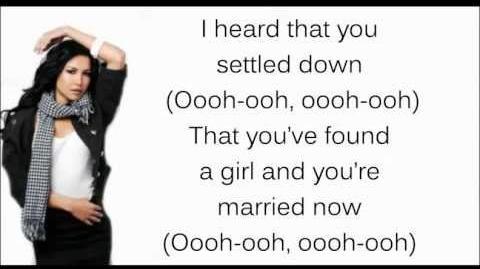 Rumour Has It Someone Like You Glee Lyrics