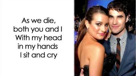 Glee - Don't Speak (Lyrics)-1