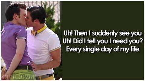 Glee - Got To Get You Into My Life (Lyrics)