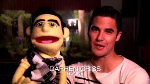 "Glee Behind The Scenes ""Puppet Master"" 5x07"