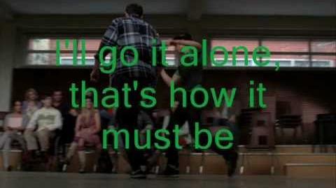 Glee I've Gotta Be Me Lyrics