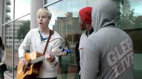 Warblers Acoustic Performance of Teenage Dream & Obviously live in Manchester ) June 21st 2011