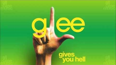 Gives You Hell Glee HD FULL STUDIO